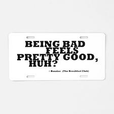 'Breakfast Club Quote' Aluminum License Plate