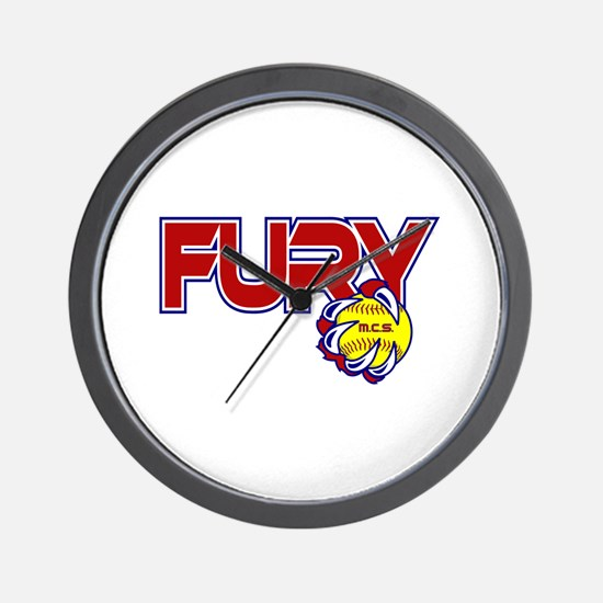 MCS Fury Wall Clock
