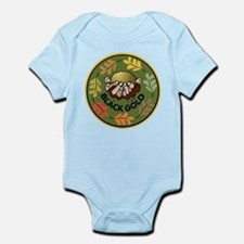 Black Gold Composting Infant Bodysuit