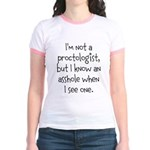 Proctologist Jr. Ringer T-Shirt