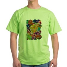 Smiley Face Buttons T-Shirt