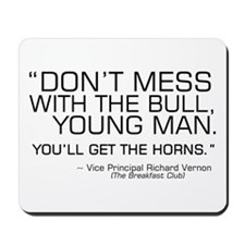 'Breakfast Club Quote' Mousepad