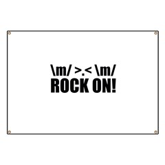 Rock On Banner