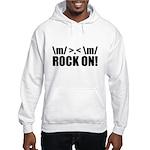 Rock On Hooded Sweatshirt
