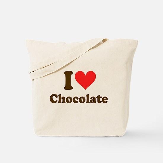 I Heart Chocolate: Tote Bag