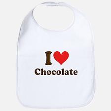 I Heart Chocolate: Bib