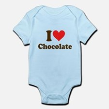 I Heart Chocolate: Infant Bodysuit