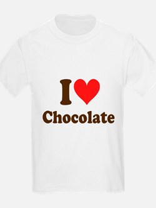 I Heart Chocolate: T-Shirt