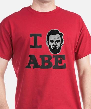 I Love Lincoln Official ABE T-Shirt