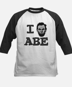 I Love Lincoln Official ABE Kids Baseball Jersey