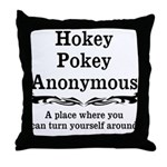 Hokey Pokey Throw Pillow