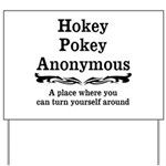 Hokey Pokey Yard Sign