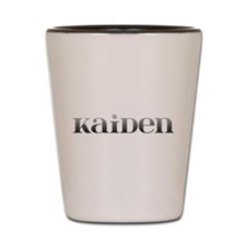 Kaiden Carved Metal Shot Glass