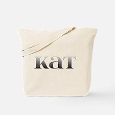 Kat Carved Metal Tote Bag
