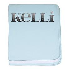 Kelli Carved Metal baby blanket