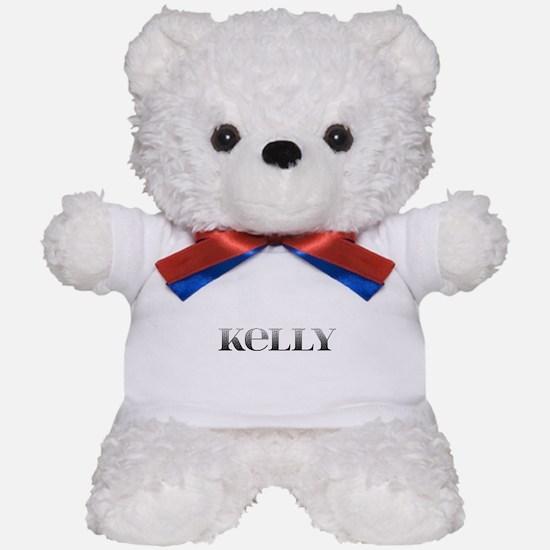 Kelly Carved Metal Teddy Bear