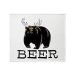 Beer Throw Blanket