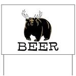 Beer Yard Sign
