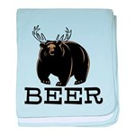 Beer baby blanket