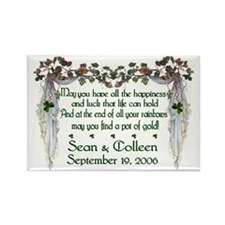 Wedding Sample 2 Rectangle Magnet (10 pack)