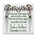 Wedding Sample 2 Tile Coaster