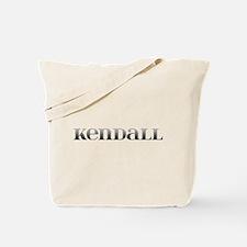 Kendall Carved Metal Tote Bag