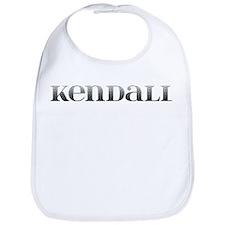 Kendall Carved Metal Bib
