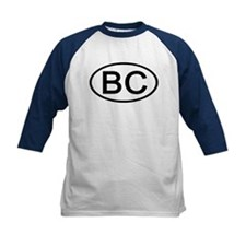 BC - Initial Oval Tee