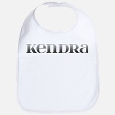 Kendra Carved Metal Bib