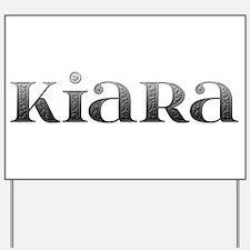 Kiara Carved Metal Yard Sign
