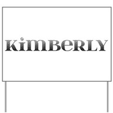 Kimberly Carved Metal Yard Sign