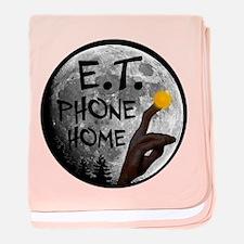 'E.T. Phone Home' baby blanket