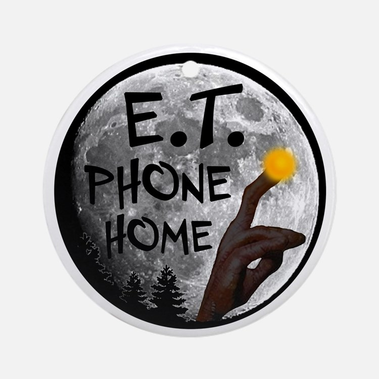 'E.T. Phone Home' Ornament (Round)