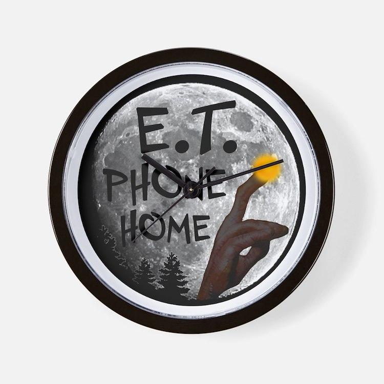'E.T. Phone Home' Wall Clock