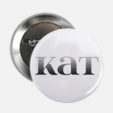 Kat Carved Metal Button