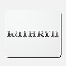 Kathryn Carved Metal Mousepad
