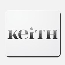 Keith Carved Metal Mousepad