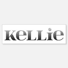 Kellie Carved Metal Bumper Car Car Sticker