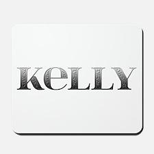 Kelly Carved Metal Mousepad
