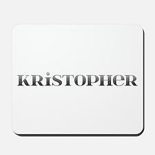 Kristopher Carved Metal Mousepad