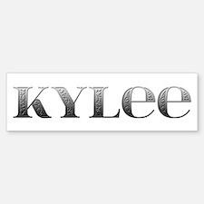 Kylee Carved Metal Bumper Bumper Bumper Sticker