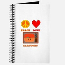 Peace Love Cartoons Journal