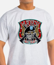 US Army Combat Engineer Shiel T-Shirt