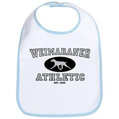 Weimaraner Athletic Bib