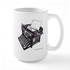 Antique Typewriter Mug