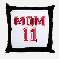 Mom 2011 Throw Pillow