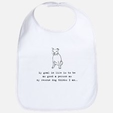 Goal in Life Dog Bib