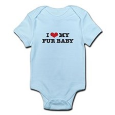 I Love My Fur Baby Infant Bodysuit