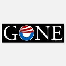 Gone Bumper Bumper Sticker
