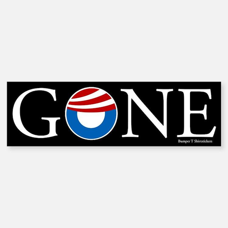 Gone Bumper Bumper Sticker